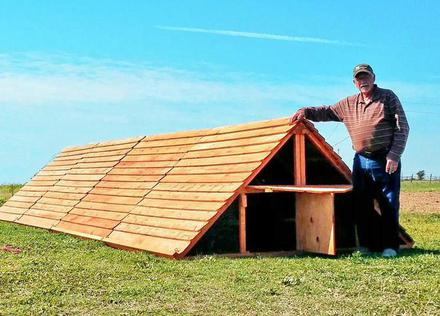 biggest chicken coop kit  8 x 8 to 8 x 24 for 60 chickens or ducks