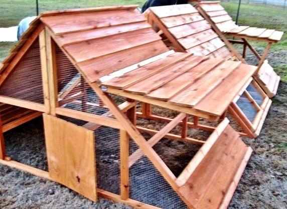 Christmas sale big and portable chicken coop hen house for Portable hen house