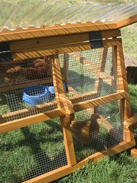handcrafet duck coop/ chicken coop