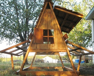 chicken coop for 8-10 hens