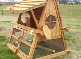 best chicken coop- charming and predator proof