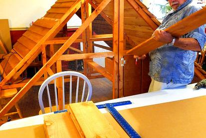 ready made modular chicken coop kit