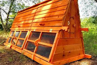 ez made usa pre made chicken coop kit