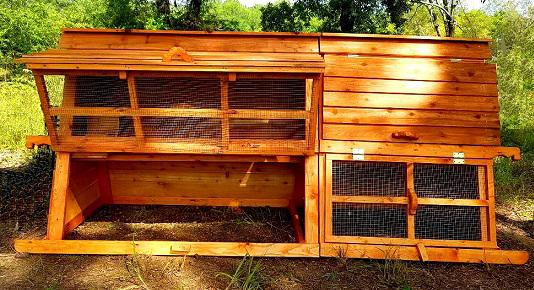 large pre made in usa chicken coop kit
