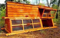 beautiful handcrafted chicken coop for 6 to 12 hens