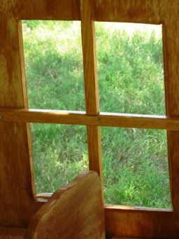 chicken coops-windows