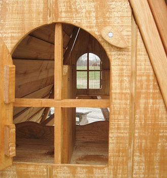 best looking chicken coop- nice windows