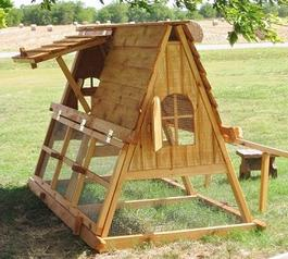 cover chicken coop for winter