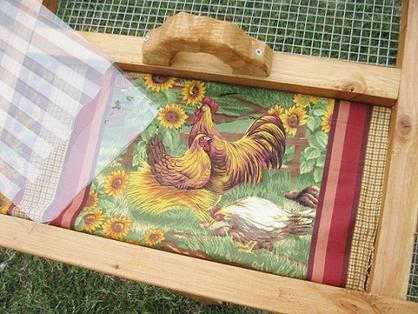 cover chicken coop